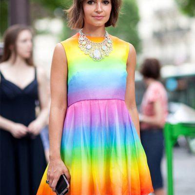 #rainbow power, dress
