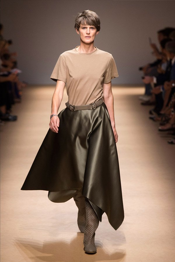 salvatore Ferragamo, gonna a ruota, trend 2019