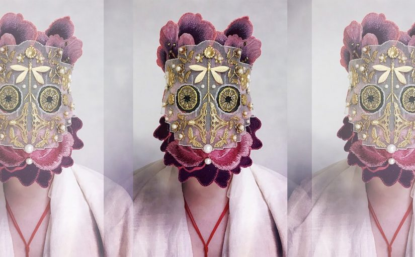 maschere instagram, arte, moda, maschere tendenza,