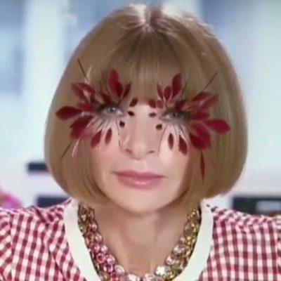 filtro instagram, Valentino, ciglia piume, haute couture,