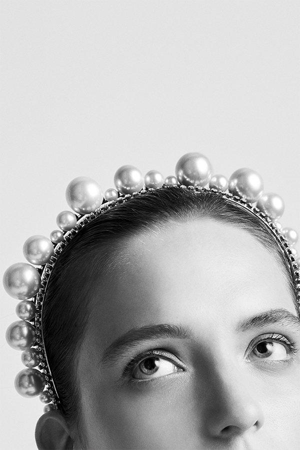 Cerchietto Givenchy, perle, autunno 2019
