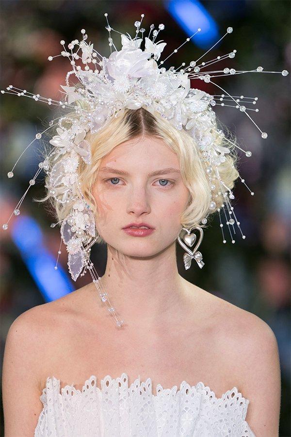 Rodarte, accessorio capelli perle