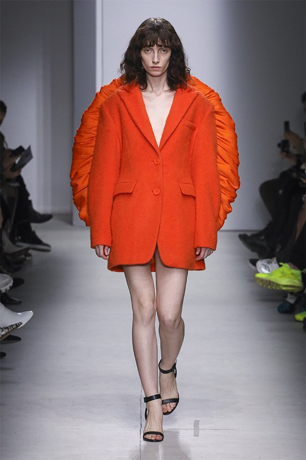 Annakiki, FW20, Milan, orange