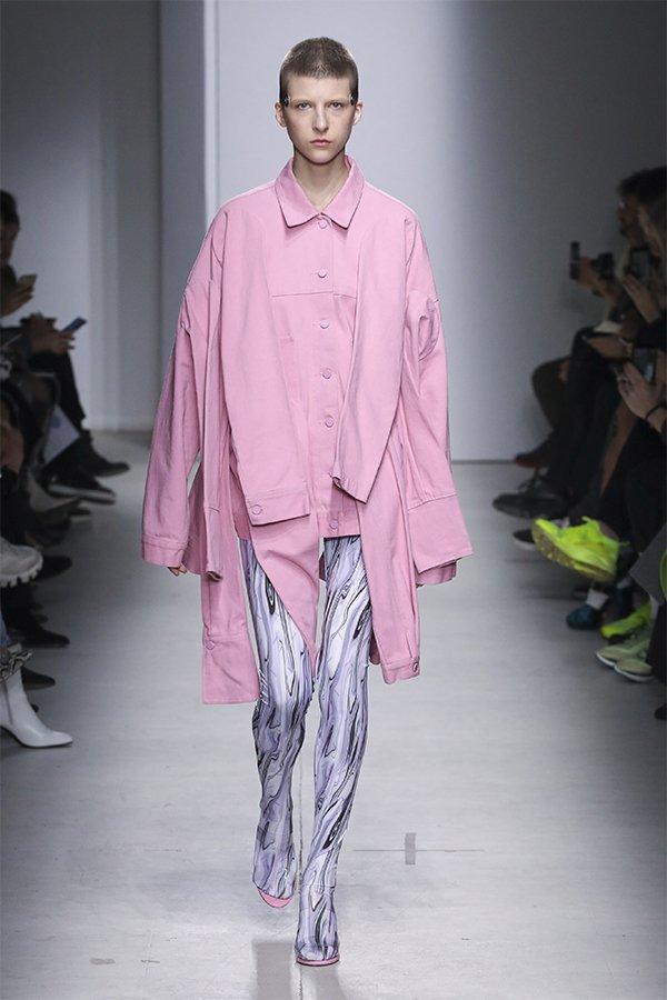 Annakiki, sfilata, FW20, Milan, pink