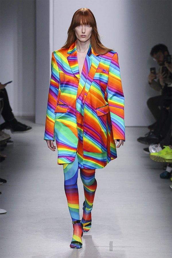 Annakiki, sfilata, FW20, Milan, rainbow