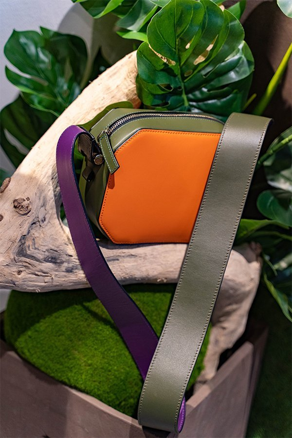 Yosono, fake bag bicolor, MFW