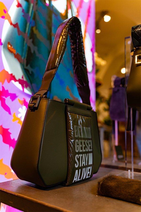 Yosono, fake bag, piumino, FW