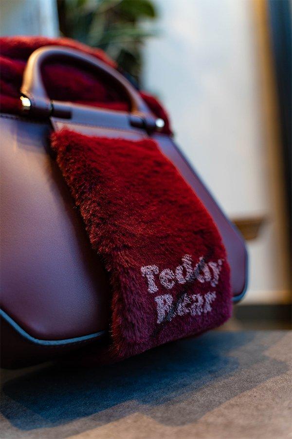 Yosono, fake bag, teddy bear