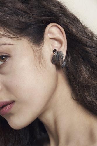 Erica Magliano, orafa sperimentale, orecchino