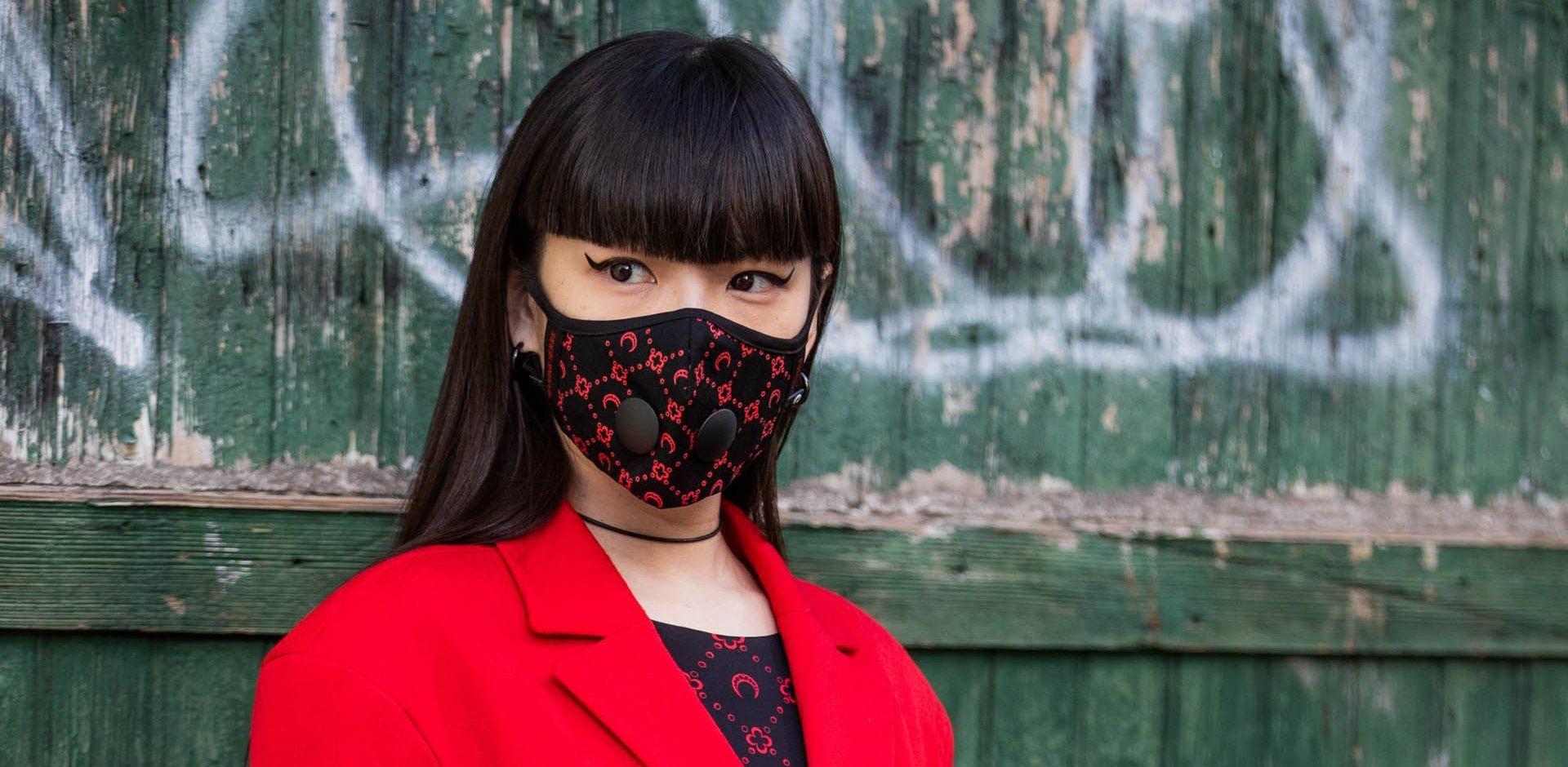 Mascherina accessorio, fashion Giappone
