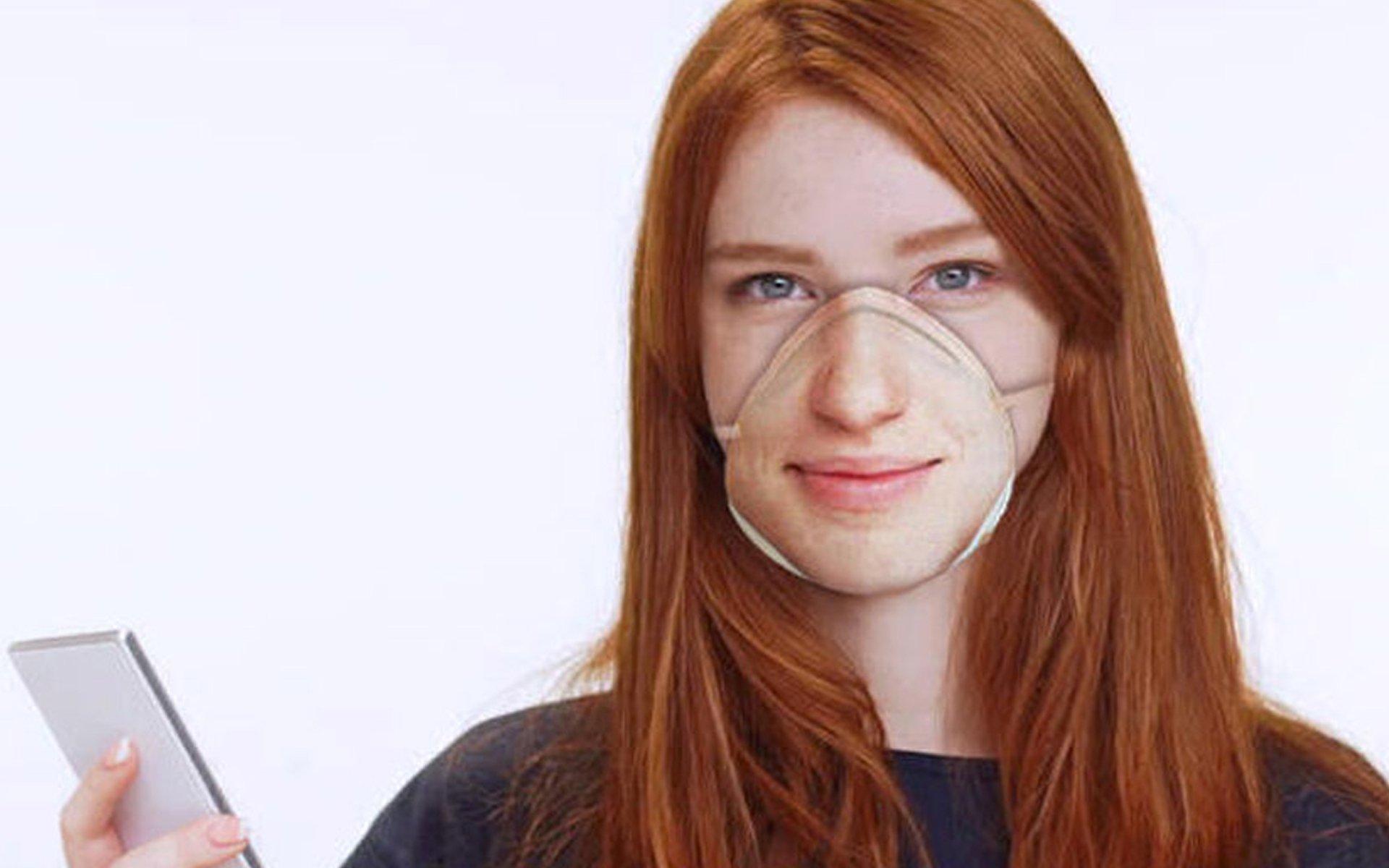 resting risk face, mascherina riconoscimento facciale, coronavirus