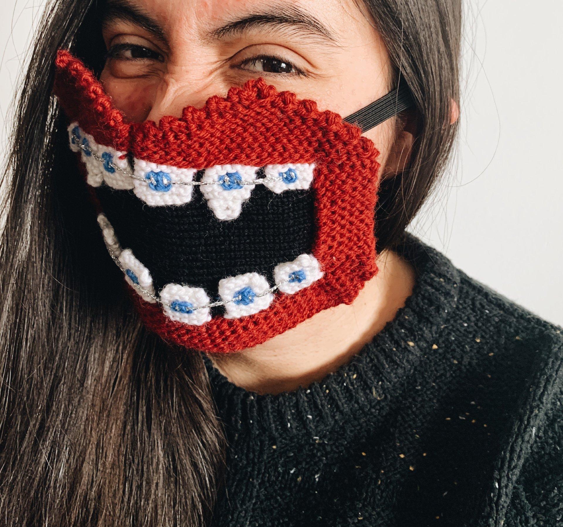 yrurari, mascherine coronavirus, knitwear